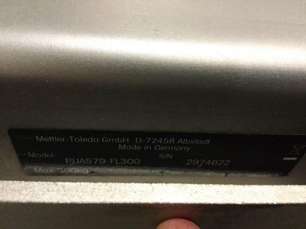 Mettler Toledo PUA579-FL300 Floor Scale