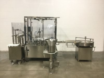 MAR Model M39-4R-2S-2A Liquid Filling Machine