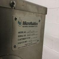 Microfluidics M110P-30K Microfluidizer