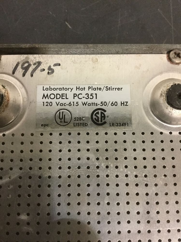 Corning PC-351 Hot Plate/Stirrer
