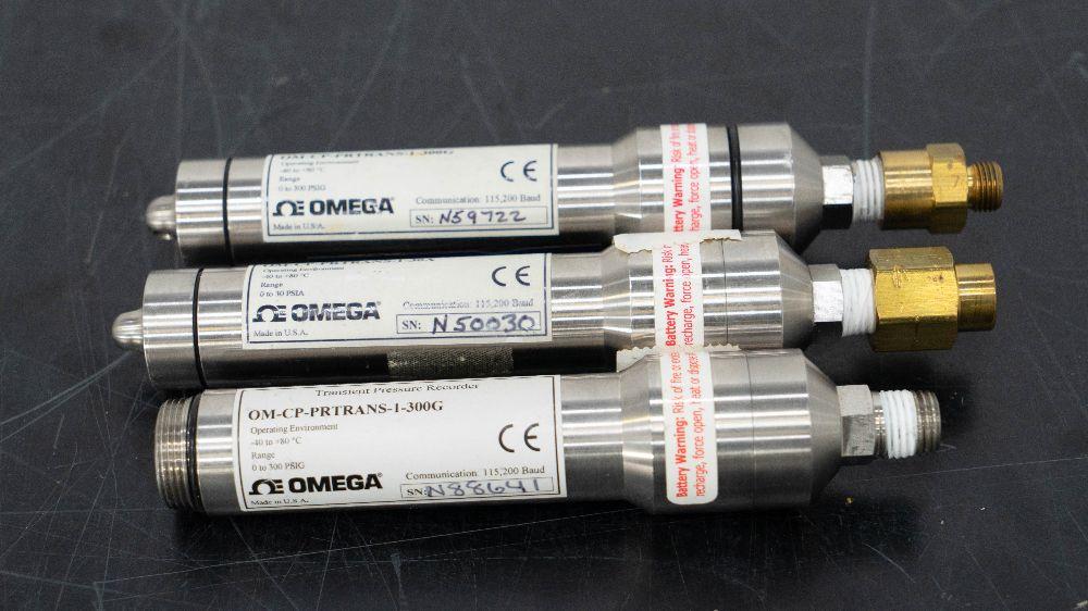 Omega Transient Pressure Recorders - Quantity 3