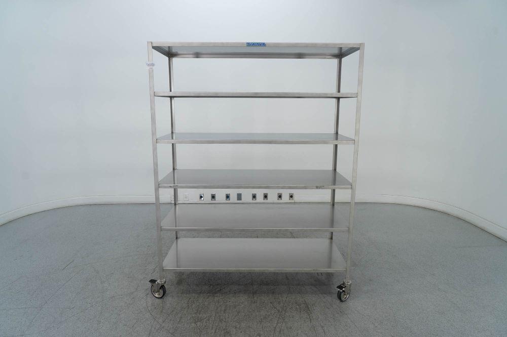 Allentown Caging Equipment Portable Rack
