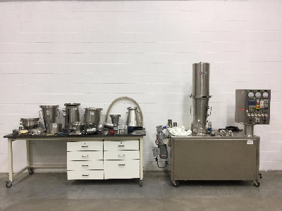 Glatt GPCG 3 Fluid Bed Dryer