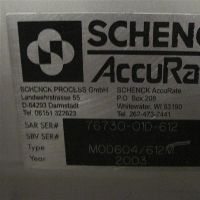 Schenck Accurate Model 604/612M Feeder