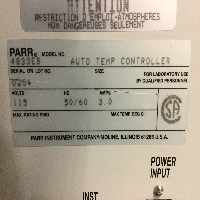Parr 3911 Shaker Hydrogenation Apparatus