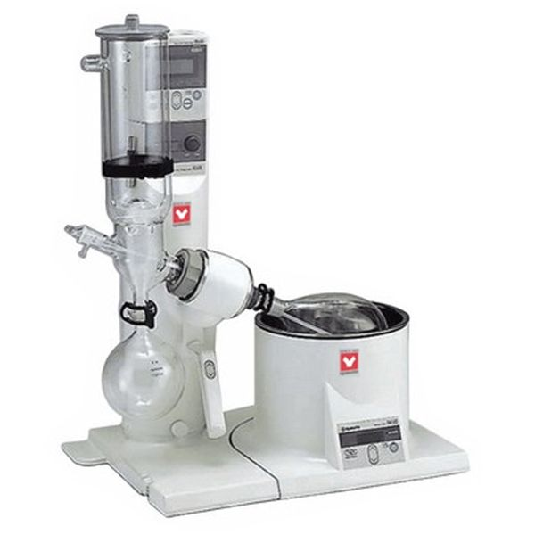 Yamato RE-801-CW2 Rotary Evaporator with BM-510 Water Bath and Glassware C