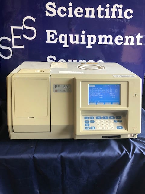 Fluorescence Spectrophotometer, Shimadzu RF-1501, Refurbished