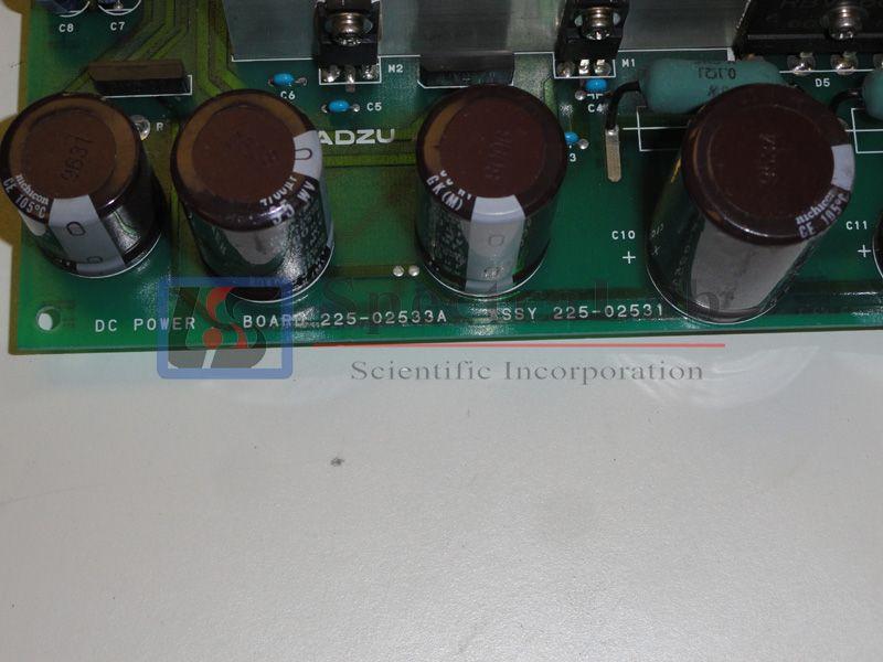 Shimadzu GC/MS QP5000 DC Power Board