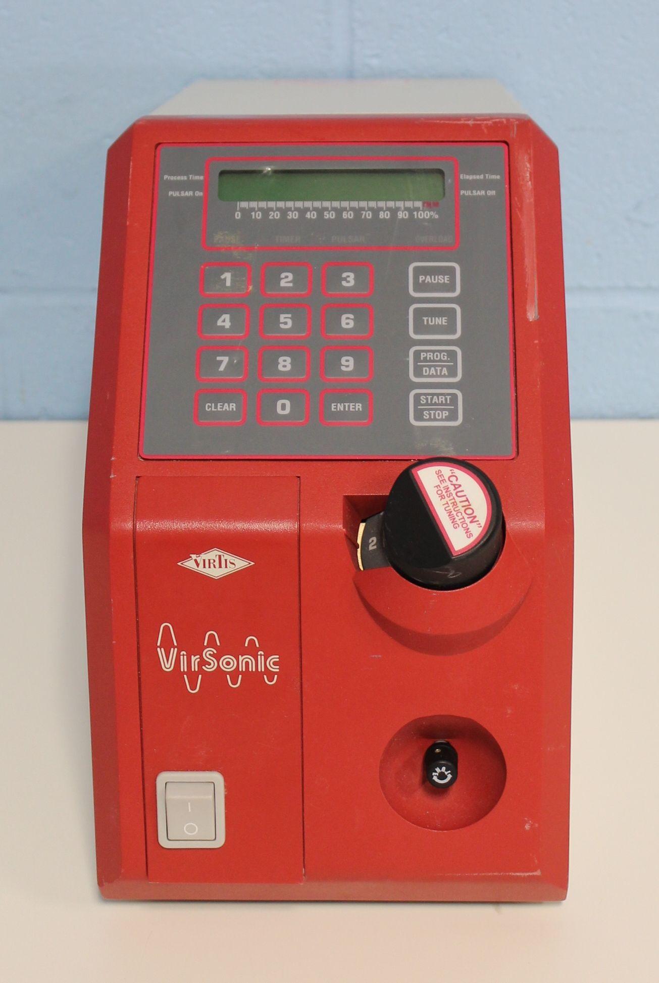 VirTis Virsonic 600 Ultrasonic Cell Disruptor