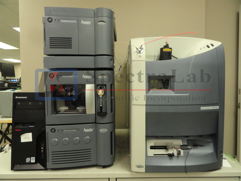 Waters Micromass Quattro Premier XE LC/MS/MS with Waters ACQUITY UPLC System