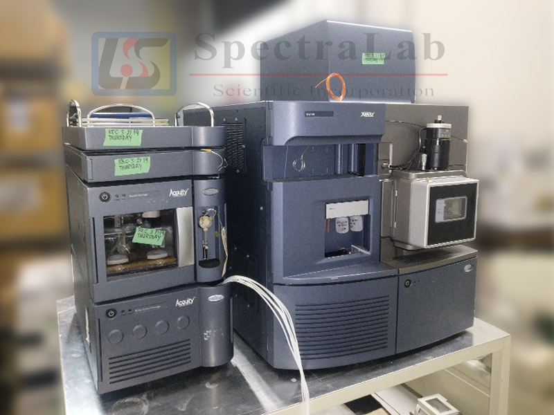 Waters Xevo QTof MS with ACQUITY UPLC System