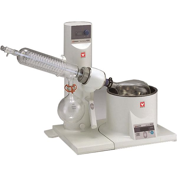 Yamato RE-301-AW2 Rotary Evaporator with BM-510 Water Bath and Glassware A