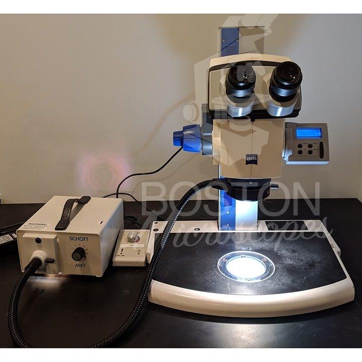 Zeiss Discovery V12 Trinocular Stereo Microscope - Boston Microscopes
