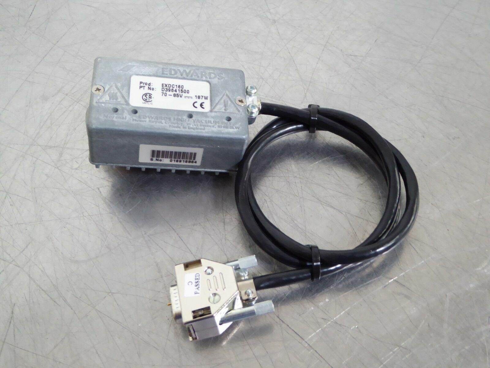 TB Edwards EXDC160 (187W) Turbo Pump Controller D3