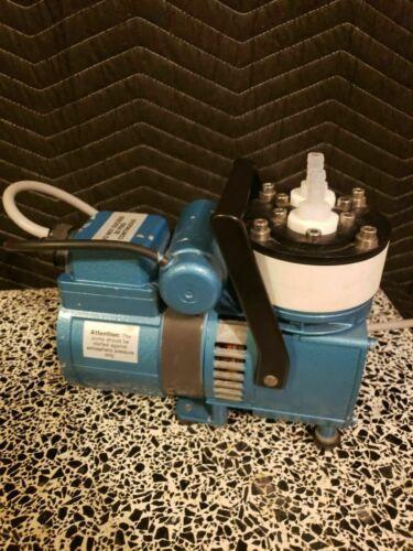 KNF Neuberger Model UN726 FTP Vacuum Pump Working
