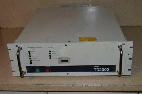 OSAKA VACUUM MODEL # TD2000 TURBOMOLECULAR PUMP CO