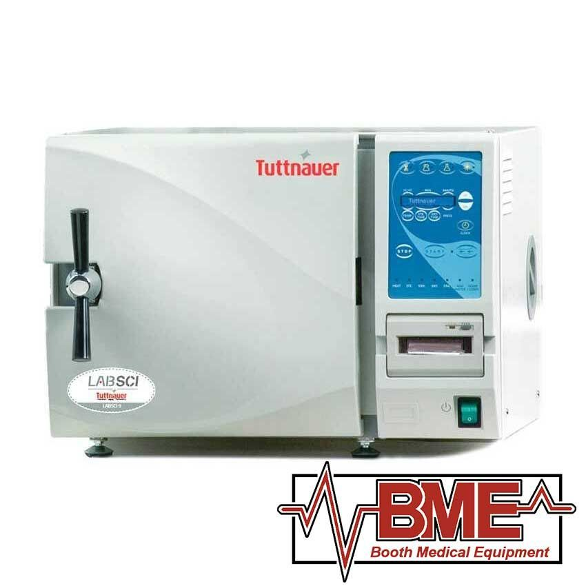 Labsci 15 Electronic Benchtop Autoclave Tuttnauer