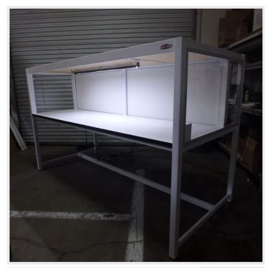 Table Model LFH-102PE– Economy Horizontal Laminar Flow HEPA Workstations
