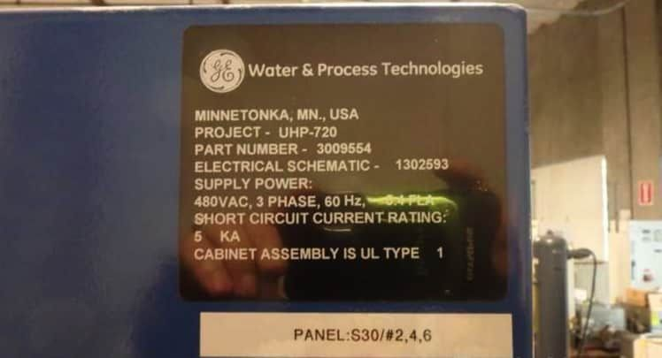 GE Infrastructure UHP-720