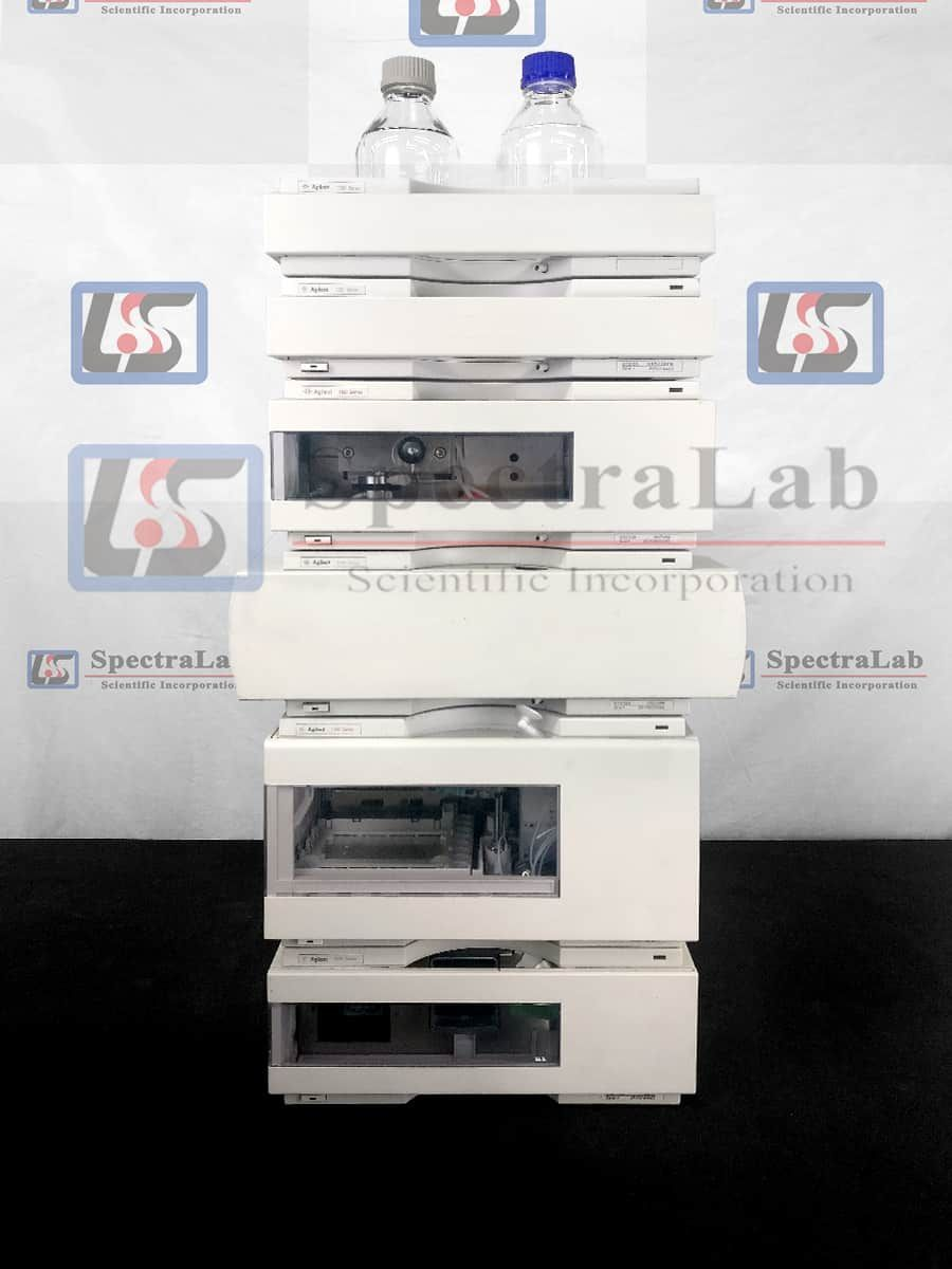 HP Agilent 1100 G1310A Iso Pump and G1315A DAD HPLC System