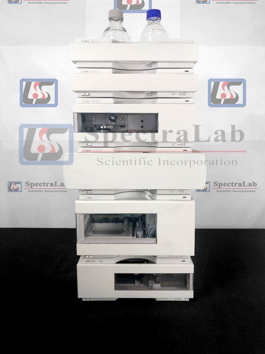 Agilent 1100 Series HPLC System with G1310A Iso Pump and G1314A VWD