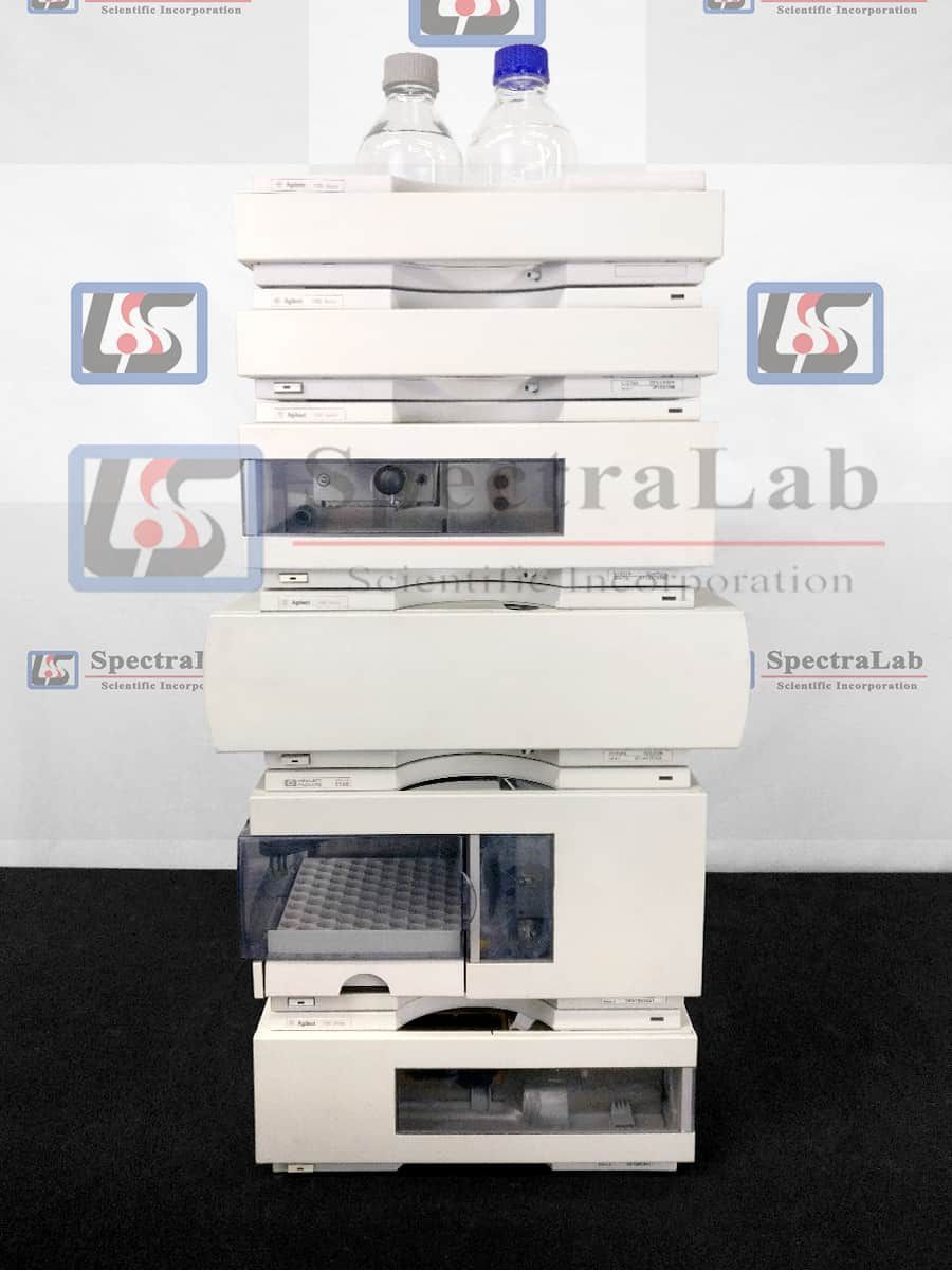 HP Agilent 1100 Series G1311A Quat Pump and G1365B MWD HPLC System