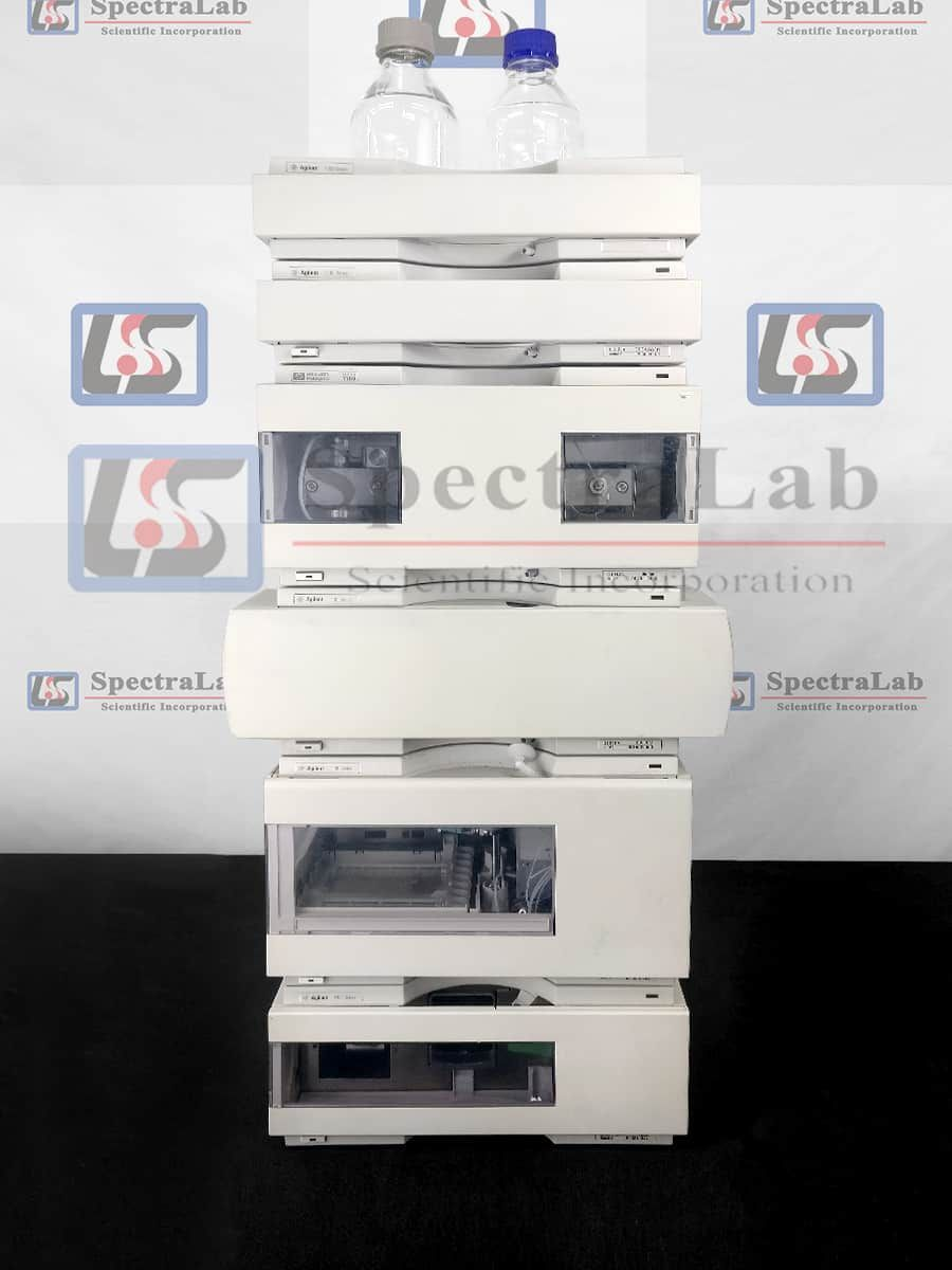 HP Agilent 1100 Series G1312A Bin Pump and G1314A VWD HPLC System