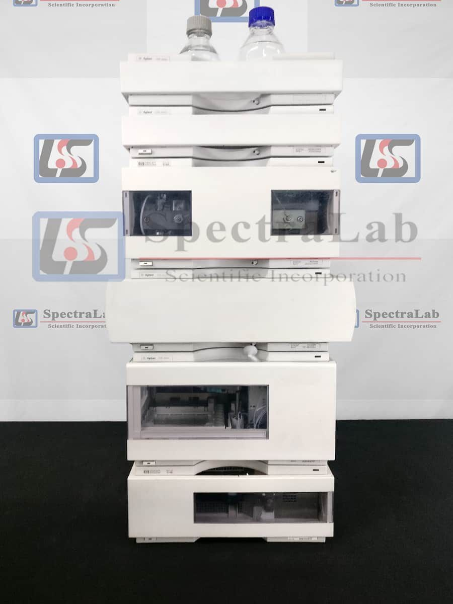 HP Agilent 1100 Series HPLC System with G1315B DAD