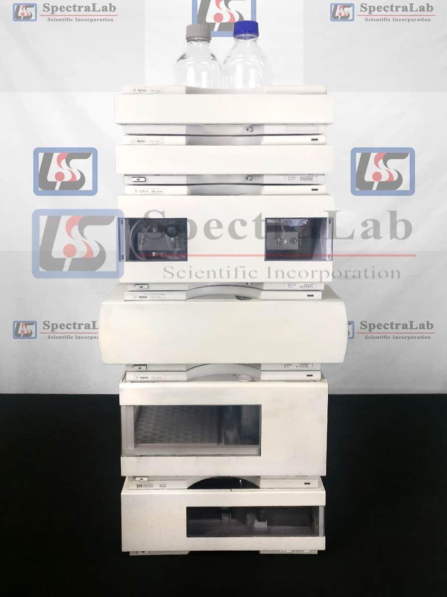 HP Agilent 1100 HPLC with G1376A Capillary Bin Pump and G1314A VWD