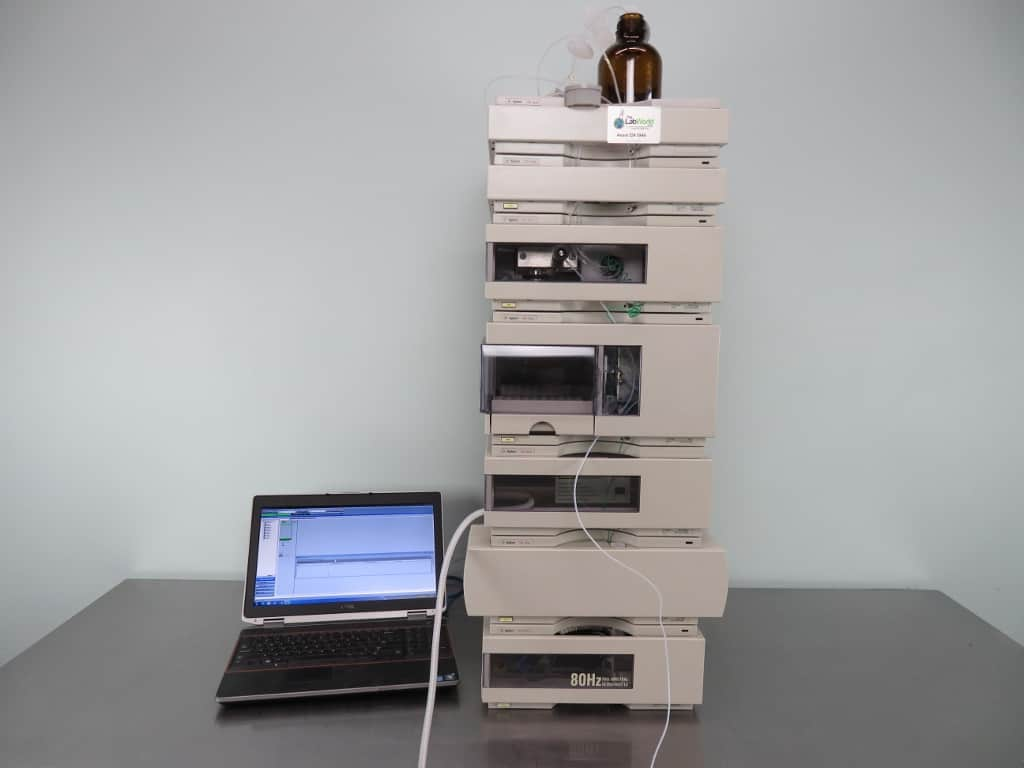 Agilent 1100 Series HPLC System with Warranty