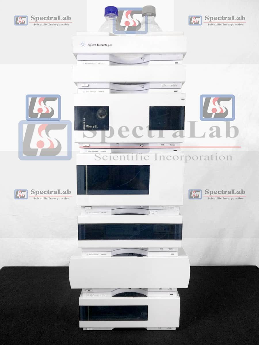 Agilent Tech 1200 HPLC System with G1312A Bin Pump and G1314B VWD