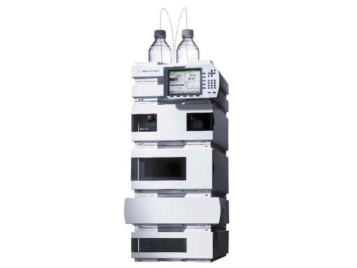 Agilent 1200 Series HPLC System (DAD, Quad Pump, Autosampler, Col Comp, Degasser)