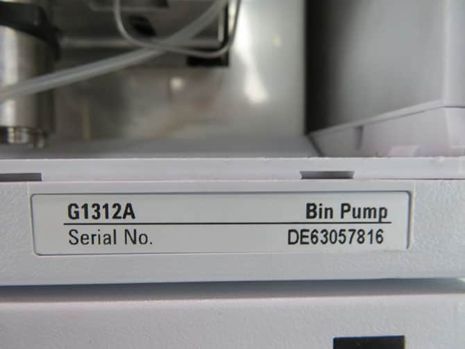 Agilent 1200 Series HPLC System with Warranty SEE VIDEO