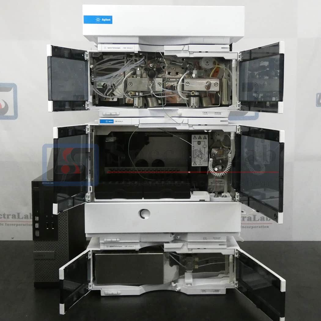 Agilent 1260 Infinity II HPLC System with MWD