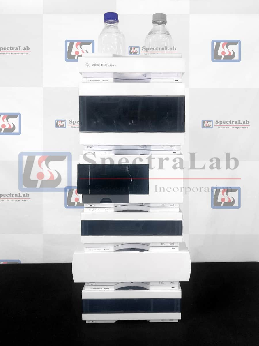 Agilent 1290 HPLC System with G4220B Bin Pump and G4212B DAD