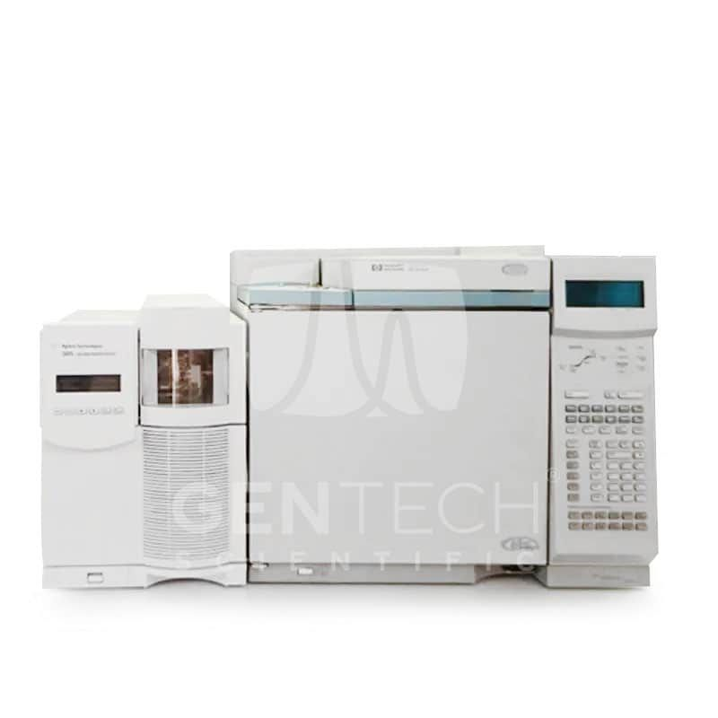 Agilent 5975C inert MSD with Triple Axis Detector (TAD), Diffusion Pump and 6890 Plus GC