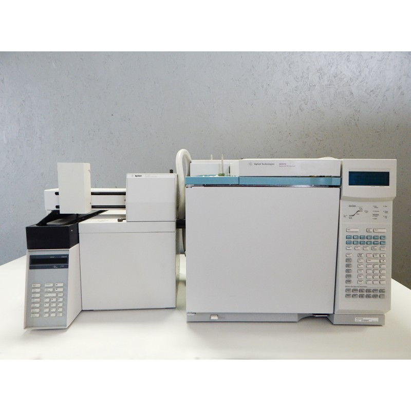 Agilent 6890 GC with 7694 Headspace
