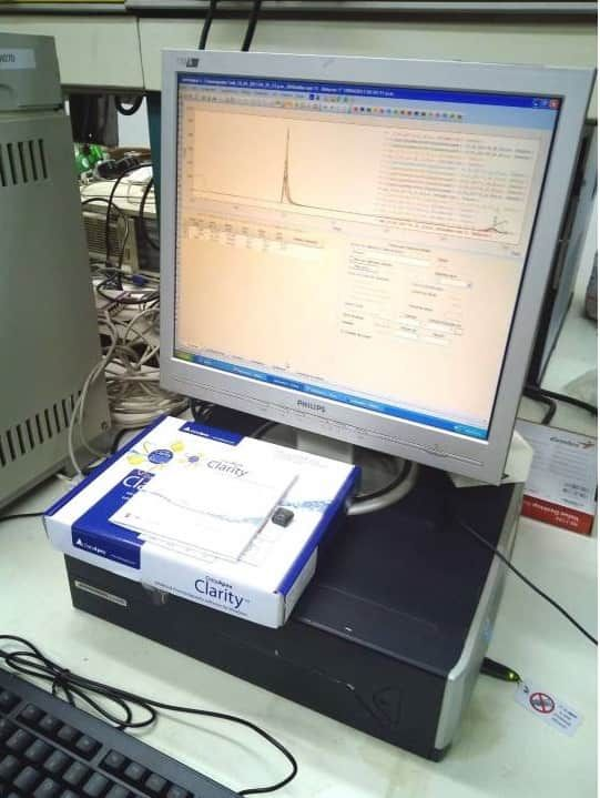 Cannabis Terpene Testing Agilent 6890N GC with FID and 7683 Autosampler