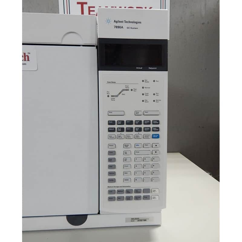 Agilent 7890 GC with Dual ECD