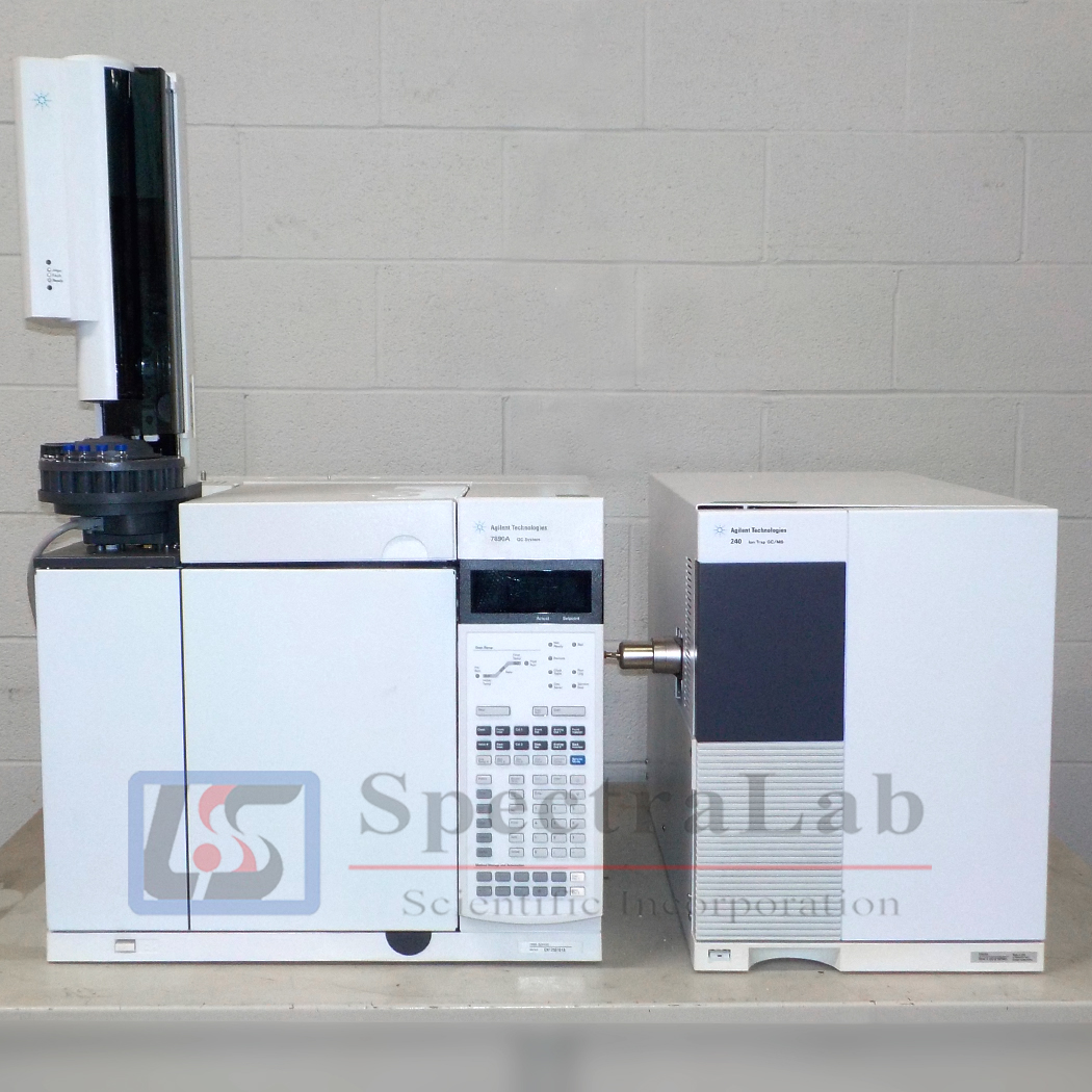 Agilent 7890A GC System with G3935A 240 Ion Trap GC/MS