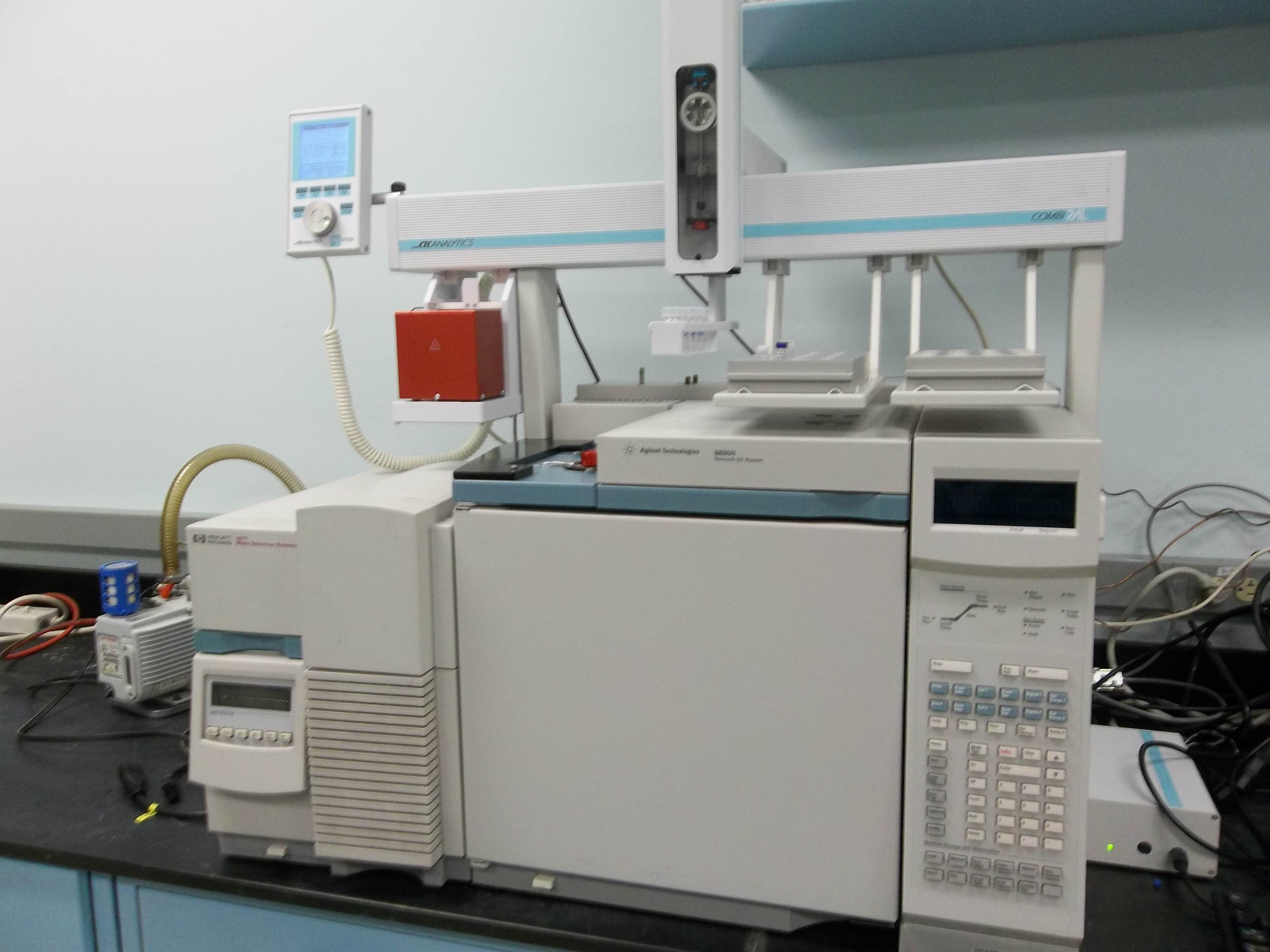 Cannabis Terpene Agilent GC/MS 6890 with 5973 MSD complete System Combi PAL Autosampler