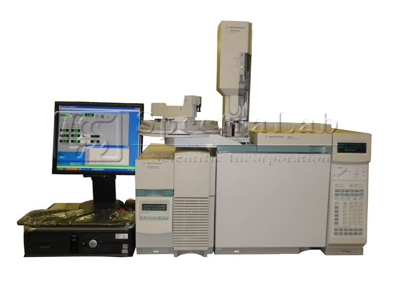 Agilent 5973N MSD with 6890N GC and 7683 Liquid Autosampler