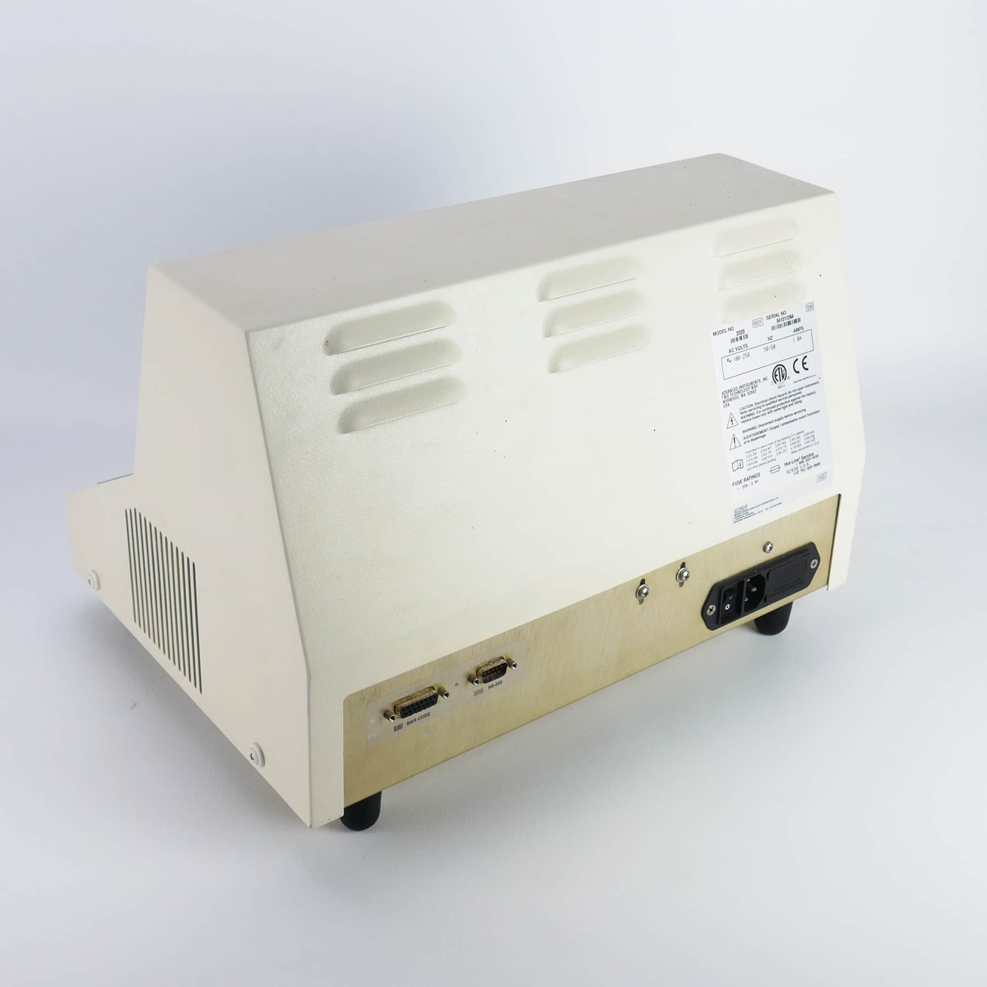 Advanced Instruments Model 2020 Osmometer