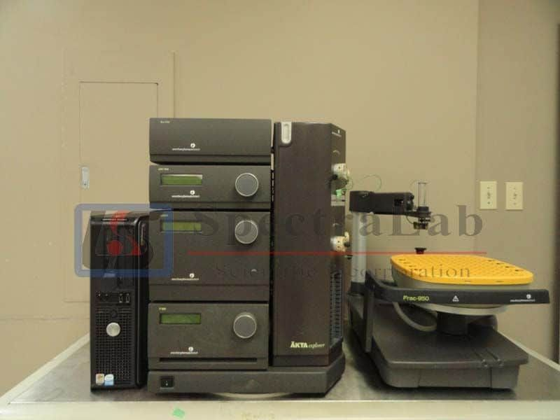 Pharmacia Biotech AKTA FPLC Explorer 100 or 10 System with Fraction Collector