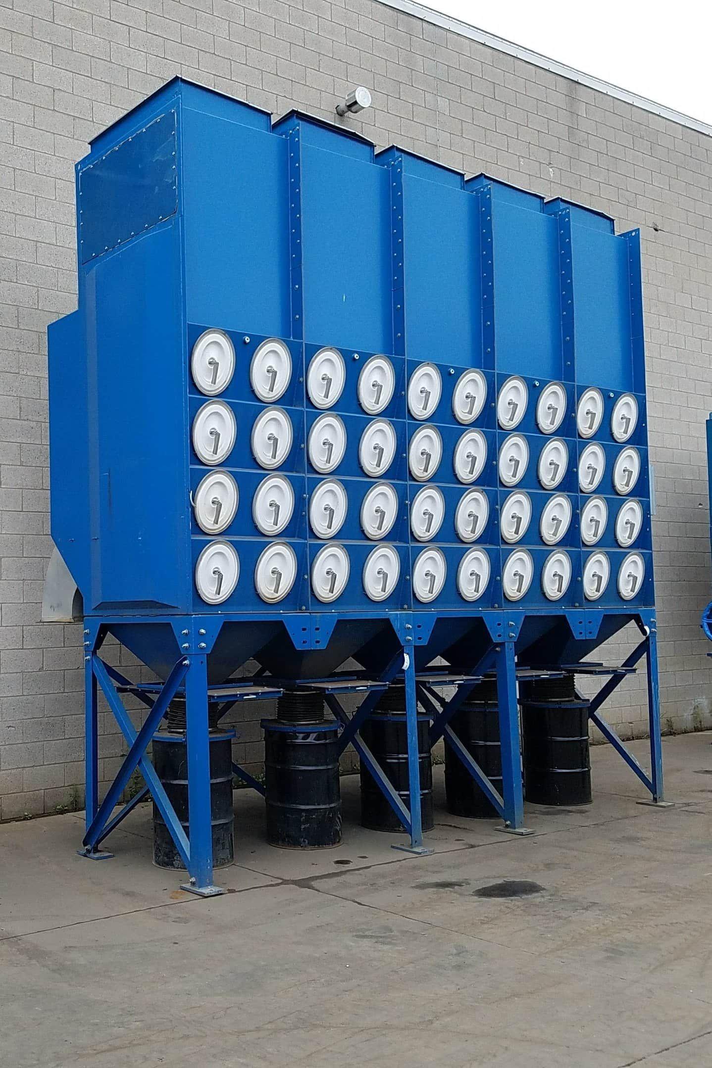 44,000 cfm Donaldson Torit #DFO4-80 EDAP Cartridge Dust Collector