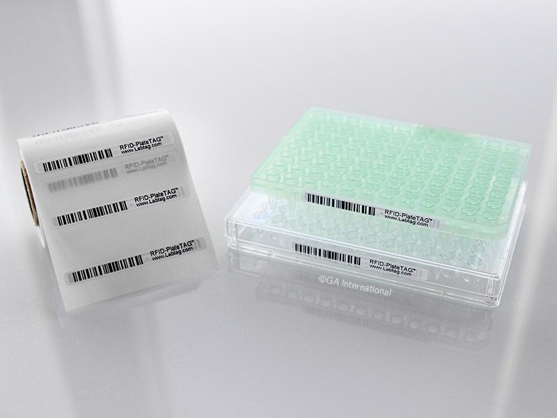 PlateTAG™ Removable Deep-Freeze Thermal-Transfer Labels