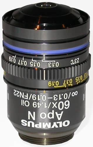 OLYMPUS APO N 60X / 1.49 TIRF OBJECTIVE FOR THE BX & IX SERIES MICROSCOPE **NEW**