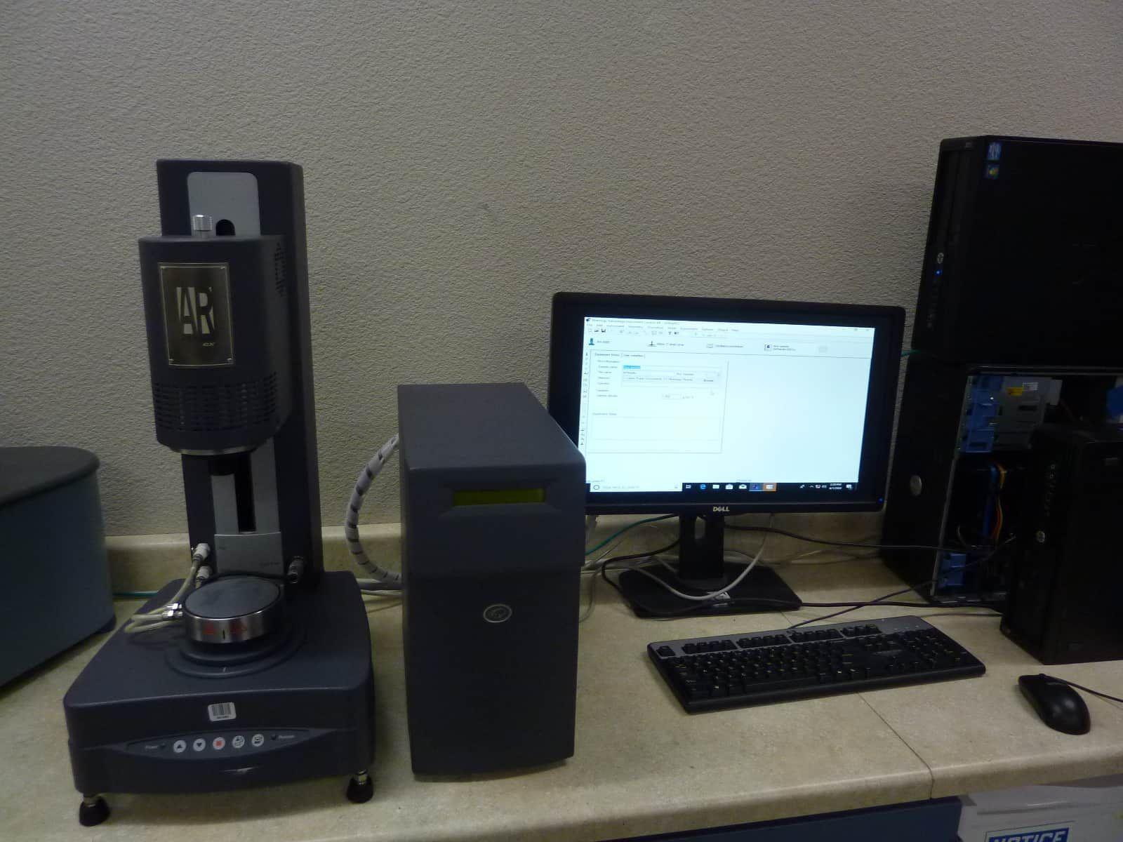 TA AR 2000EX Advanced Rheometer; Windows 10 ready