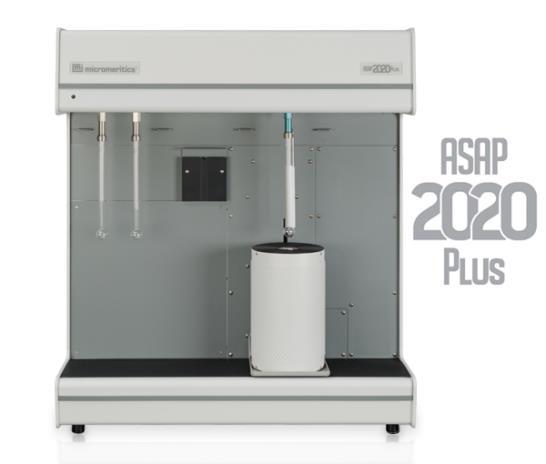 ASAP 2020 Plus Physisorption