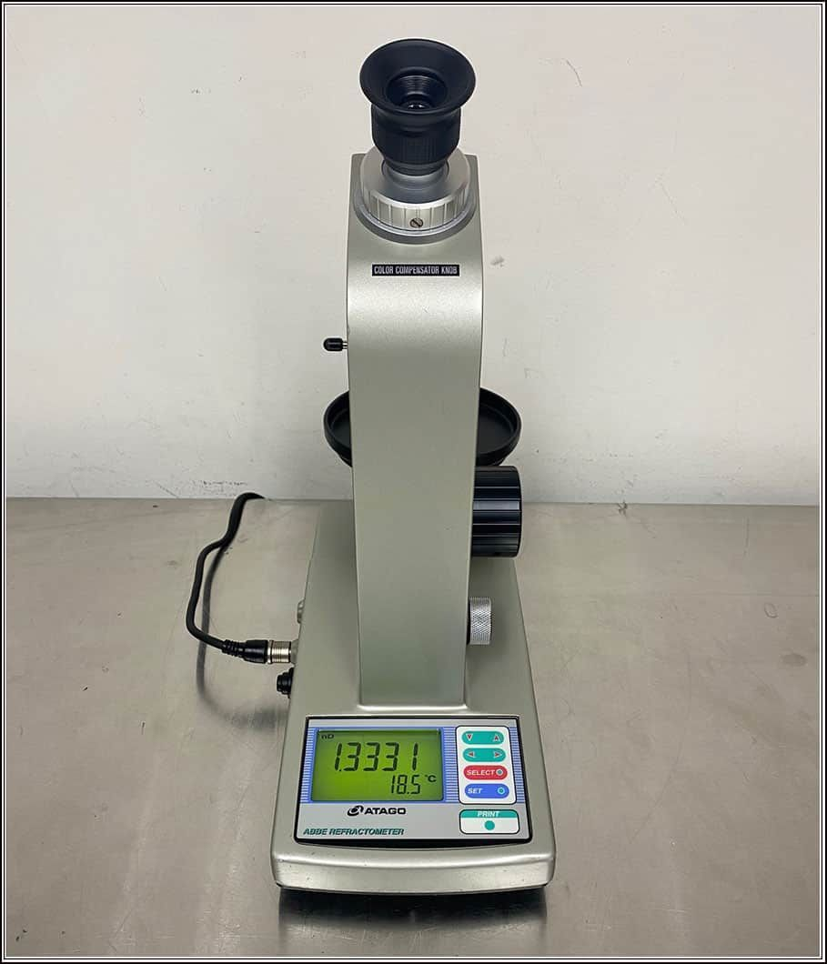 Abbe Atago DR-A1 Refractometer w WARRANTY